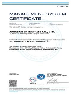 ISO 14001 (DNV.GL)